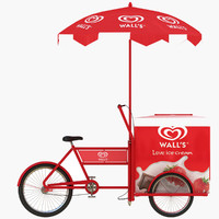Wall's Ice Cream Cart