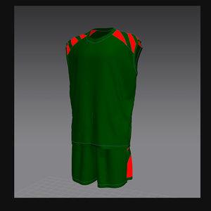 sportswear marvelous designer 3d model