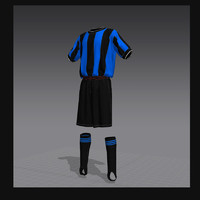 3d model soccer form 1
