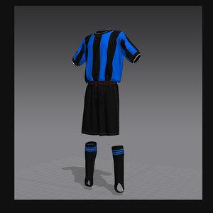 3d model soccer form 1