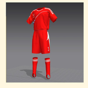 3d soccer form russia