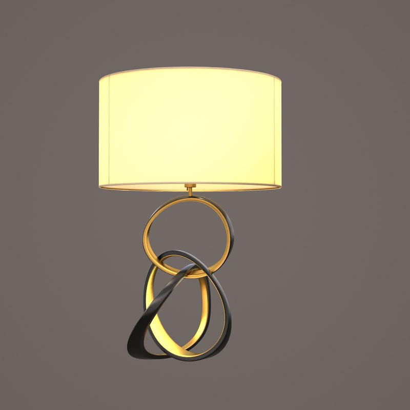 lampe volubile 3d obj