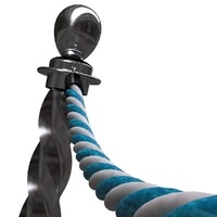 3ds max twisted rope