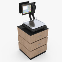 cupboard libra 3d model