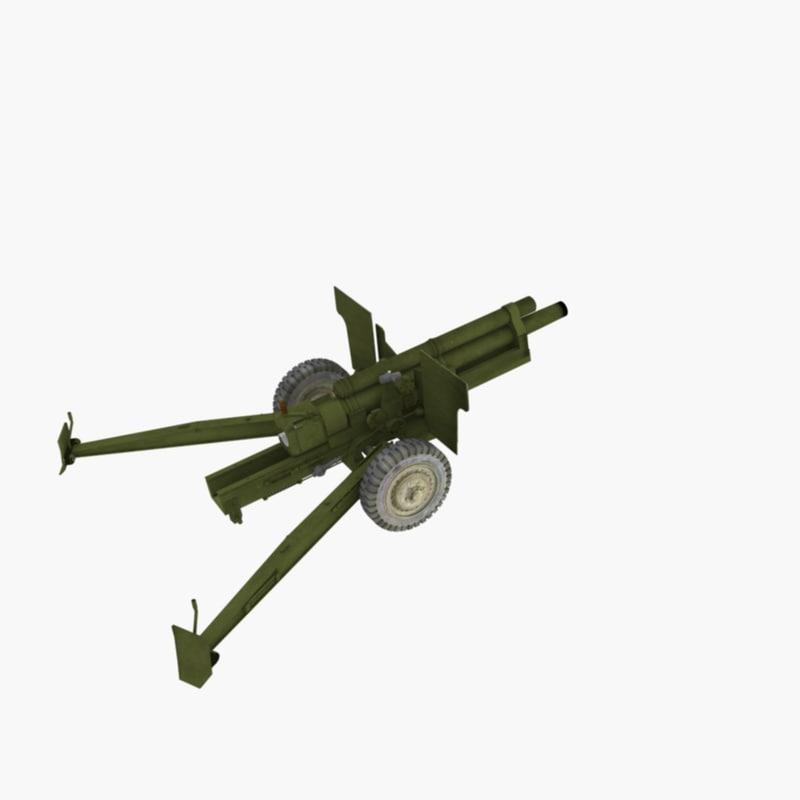 3d 105 howitzer