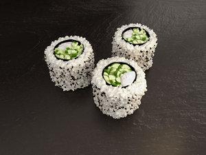 hosomaki kappa sushi 3d model
