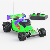 toy car racing 3d max