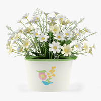 max flowers camomile bouquet