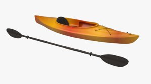 3d generic kayak