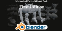 3d model kitbash pack parts editing