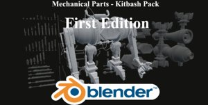 3d model kitbash pack parts editing