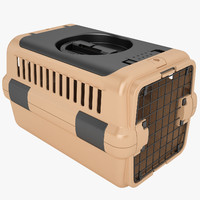 3d model mobile pet carrier