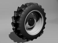 3d tractor wheel trelleborg 42