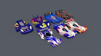 bodies let tamiya cars 3d c4d