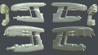 Starlord Guns 3d printing