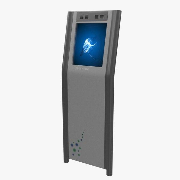 electronic kiosk 3d x