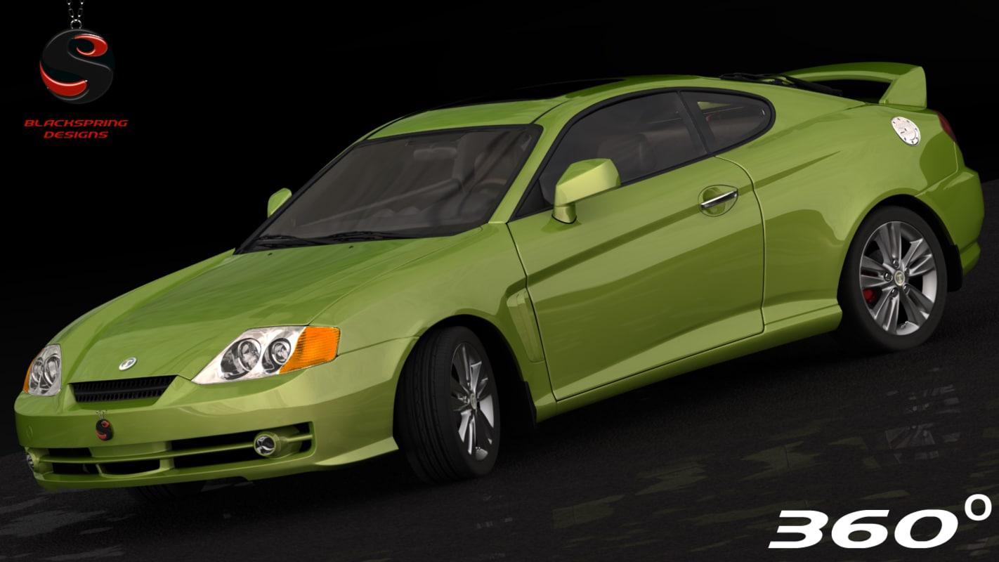3d hyundai tuscani elisa 2003 model