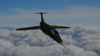 free military fighter jet 3d model