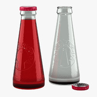 3d model of campari soda