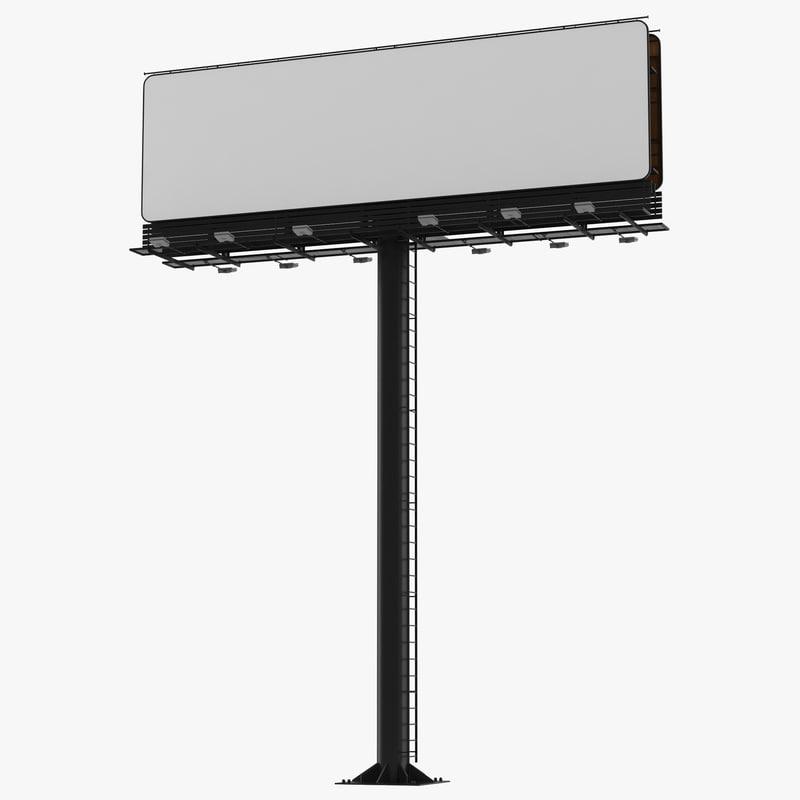 billboard realistic 3ds