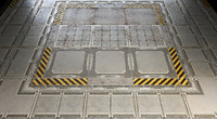 max sci-fi floor panels