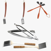 5 BBQ Tools Collection
