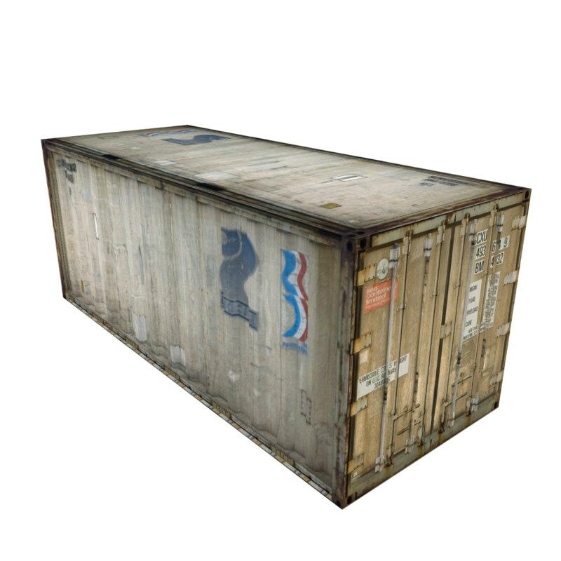 cargo container 3ds