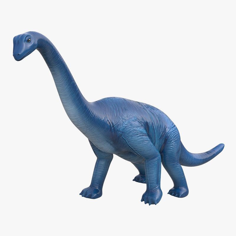 3d Dinosaur Toy Brachiosaurus