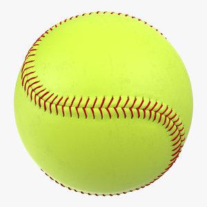 max softball ball