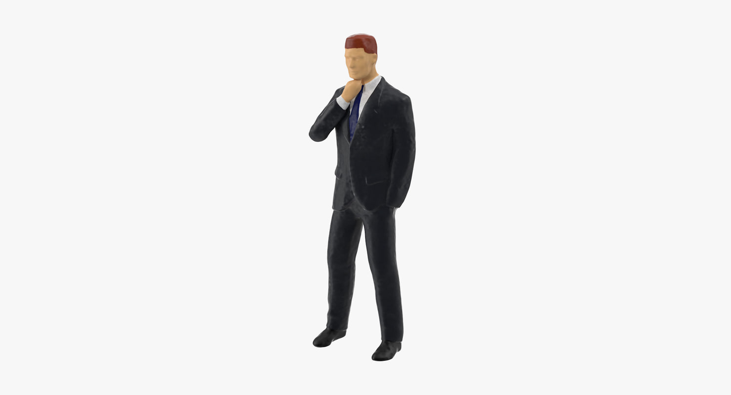 3ds max business man 05