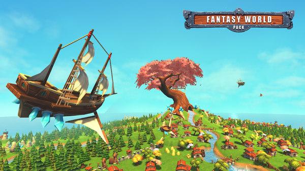 3d pack fantasy world