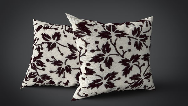 pillows hd obj