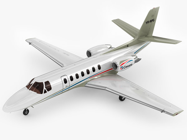 3d model cessna citation v