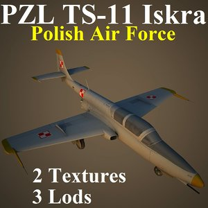 pzl plf 3d max