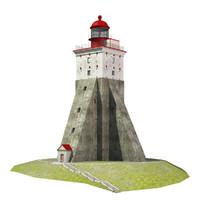 3d lighthouse kopu