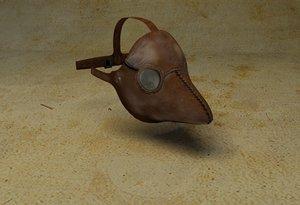 3d max plague mask