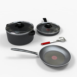 casseroles caserolas 3d max