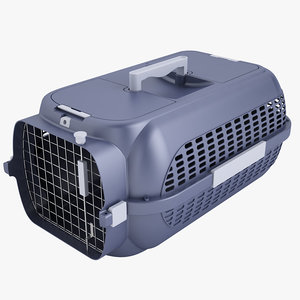 mobile pet carrier 3d model
