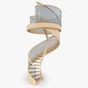 Spiral Staircase 3D models