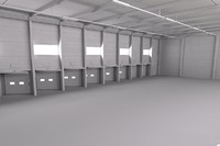 3d warehouse scene