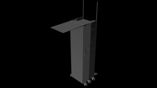 siege tower obj