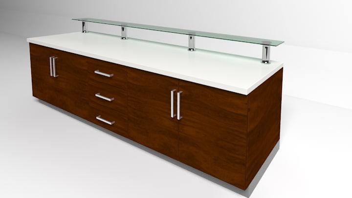 worktop table 3d model