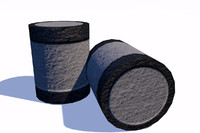 Barrel Low Poly