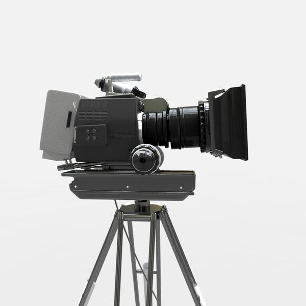 3d panavision camera model