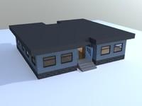 3d house simple