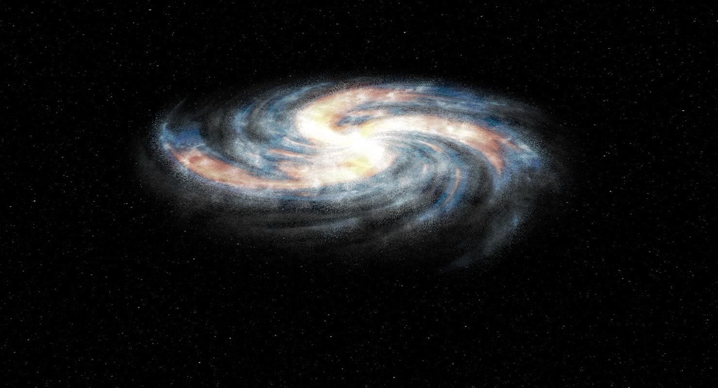 cinema4d spiral galaxy