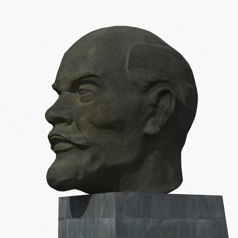 3d model lenin monument