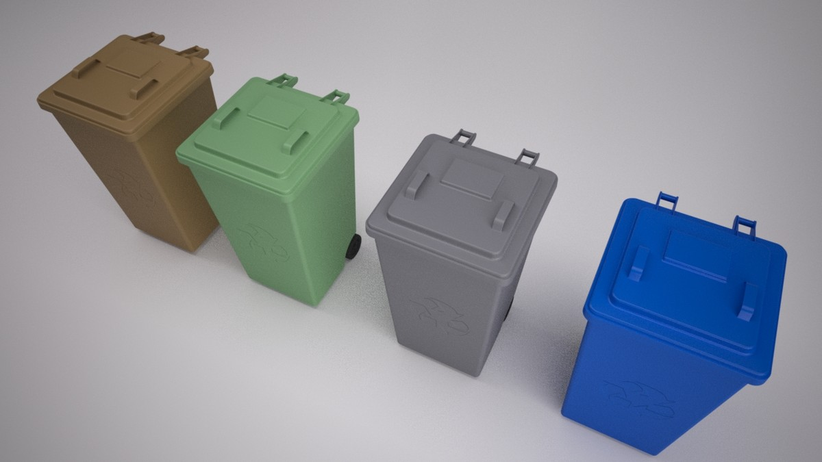 recycling bins max