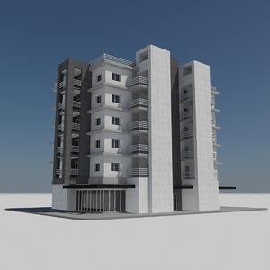 - hd modern apartment 3d model