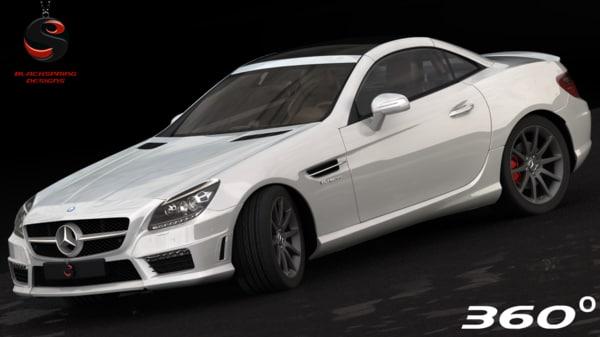 mercedes-benz slk55 amg 2012 max